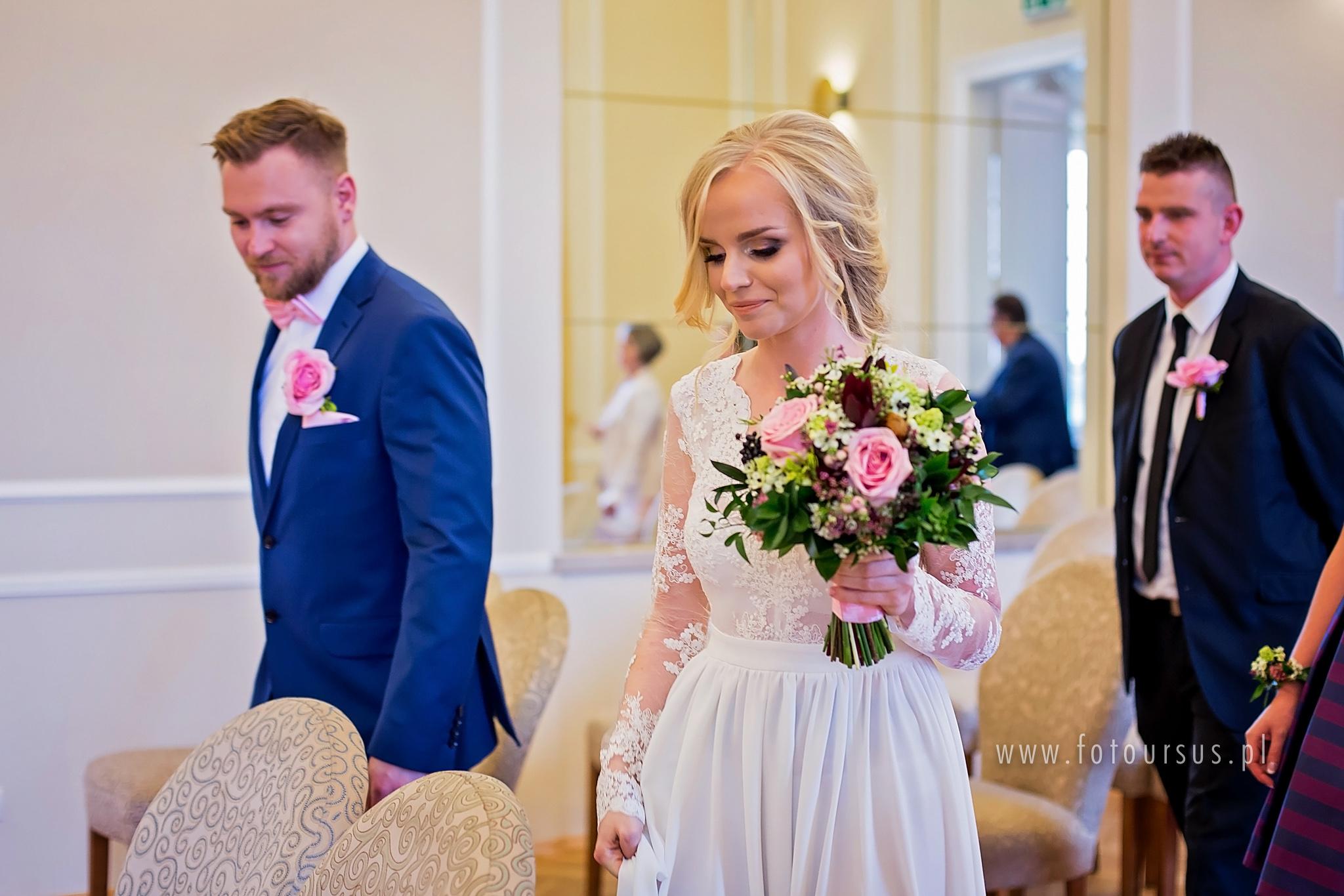 ślub Cywilny W Pałacu ślubów Fotoursus